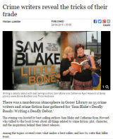 <h5>Deadly Reads in the Gorey Guardian</h5>