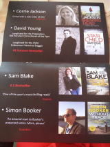 <h5>Bonnier Zaffre Launch Party Theakstons Old Peculier Crime Festival, Harrogate</h5>