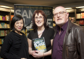 <h5>Jane Wong, Sam Blake and Bert Wright</h5>