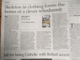<h5>Declan Burke reviews Little Bones in Irish Examiner</h5>