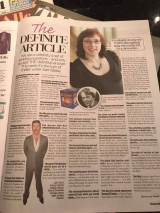 <h5>With Simon Cowell in the Irish Mail on Sunday</h5>